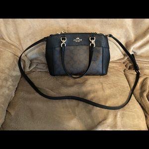 Coach trademark purse